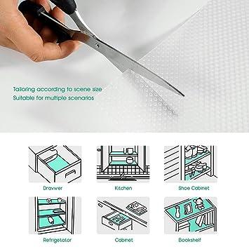 Amazon.com: Yachee 3 rollos de EVA revestimientos para ...