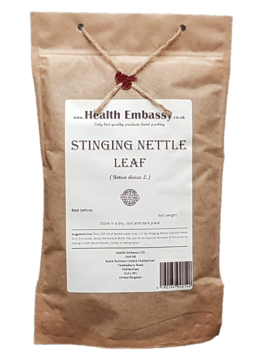 Stinging Nettle Leaf Tea Urticae Folium – Health Embassy – 100 Natural 50g