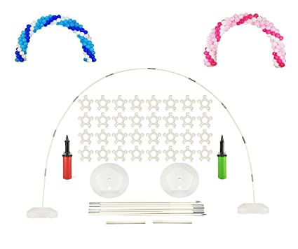 Large Balloon Arch Kit   8FT Tall U0026 18Ft Wide Easy DIY Frame Base And Pole