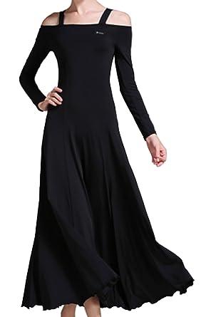 3b9d6ba00 CHAGME Sling Modern dance dress National standard dress Cha Cha skirts  Ballroom skirt Waltz skirt black
