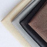 MorningRising Speaker Cloth Stereo Gille Fabric Speaker Mesh Cloth for Audio Gray