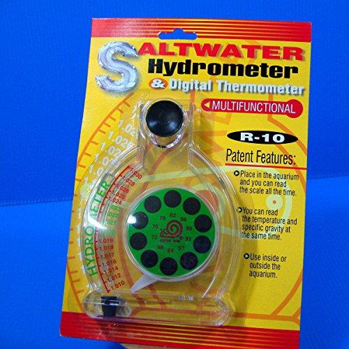 saltwater Hydrometer & Digital Thermometer aquarium NEW by Aquarium Supplies