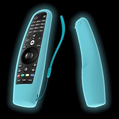SIKAI - Carcasa de Silicona para LG AN-MR600 Magic Remote Cover (Incluye Funda Antideslizante para LG Smart TV Magic Remote Skin y Correa para el Mando a Distancia): Amazon.es: Electrónica