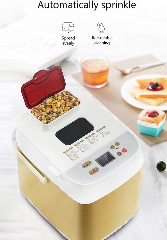2LB - Máquina de pan multifunción con 19 programas, automático 15 horas de retraso temporizador, 2 tamaños de pan, 3 colores de serpiente y 1 hora de mantenimiento caliente: Amazon.es: Hogar