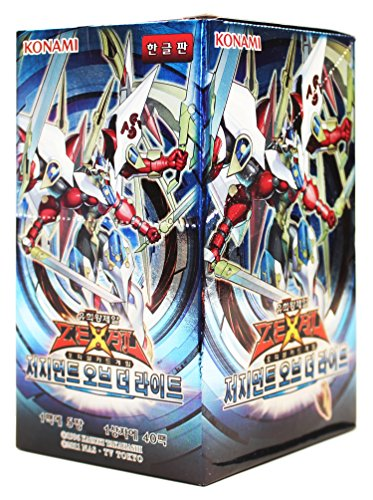 ioh Card ZEXAL Booster Pack Box OCG 200 Cards Judgment of the Light Korea Version ()