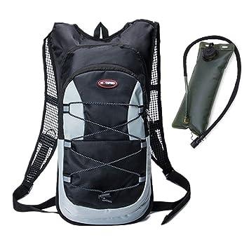 haoYK 12L impermeable mochila ligera bolsa de hidratación deporte ...