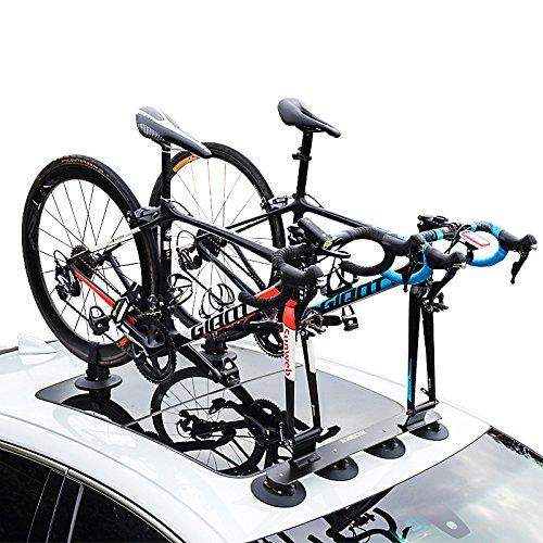 RockBros Portabicicletas Baca bicicleta con ventosa de almacenamiento para Auto (Negro para 2 bicicletas): Amazon.es: Deportes y aire libre
