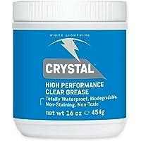 White Lightning Vet Crystal Clear Grease 454g blik, 4001934