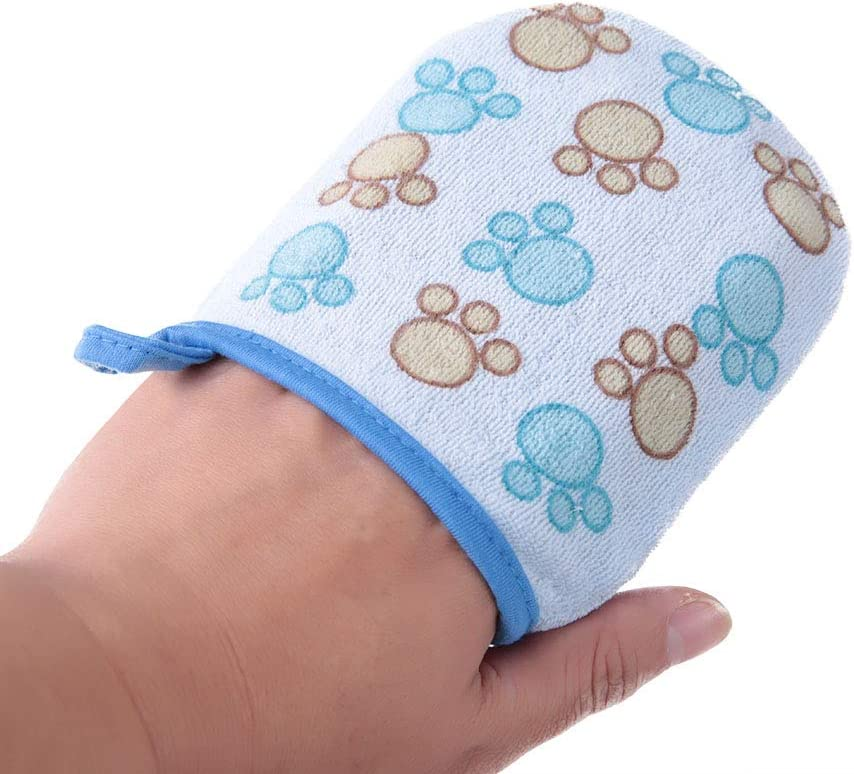 hongxinq Cartoon Mittens Cotton Baby Bath Shower Sponge Kids Bath Brush Cotton Scrubber