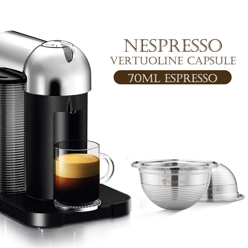 Amazon.com: Blusea Cápsula de café, de acero inoxidable ...