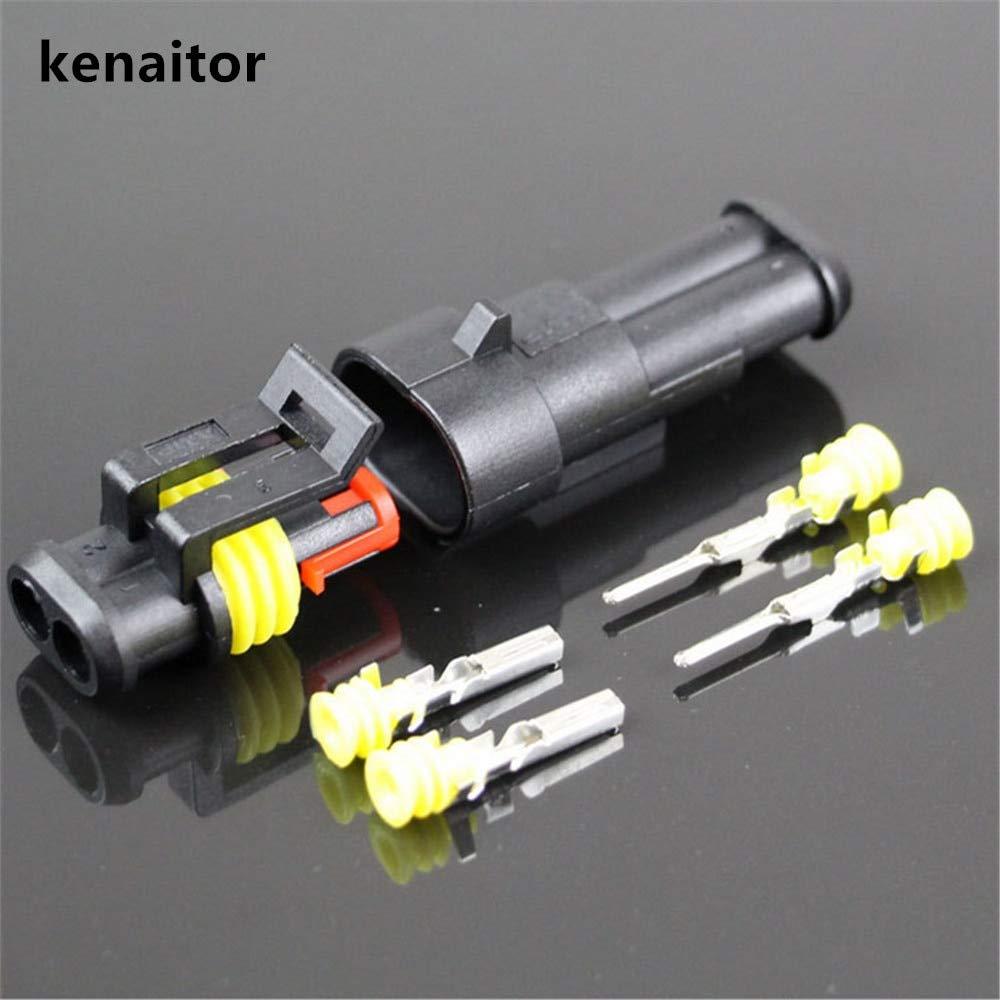 1 Way Superseal Connector Kit Waterproof Weatherproof Electrical Wiring