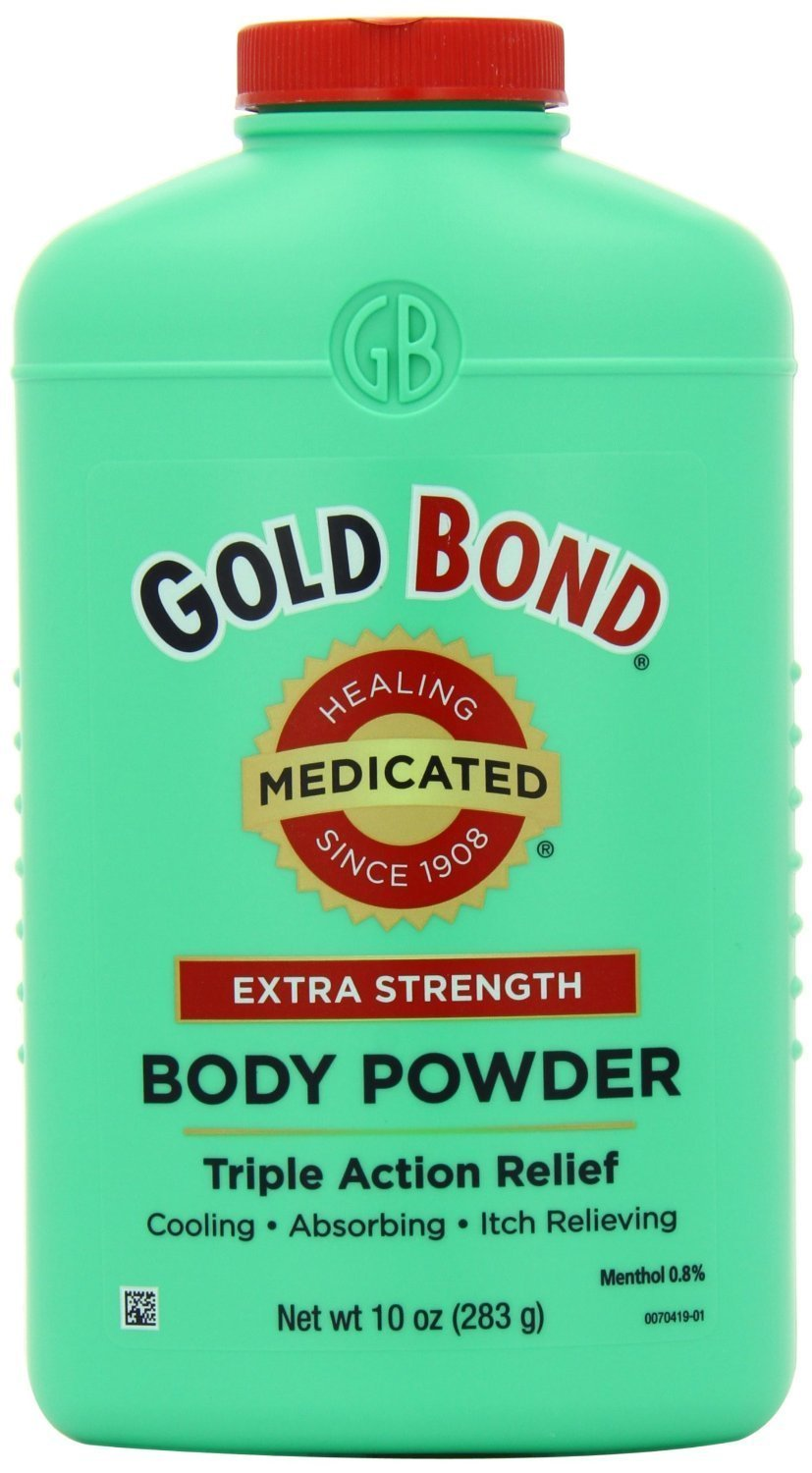 Gold Bond Triple Action Medicated Body Powder, 2 Count