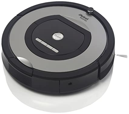 ענק iRobot ROOMBA774 HEPA PET Robot Vacuum Cleaner with Free Cleaning JB-82