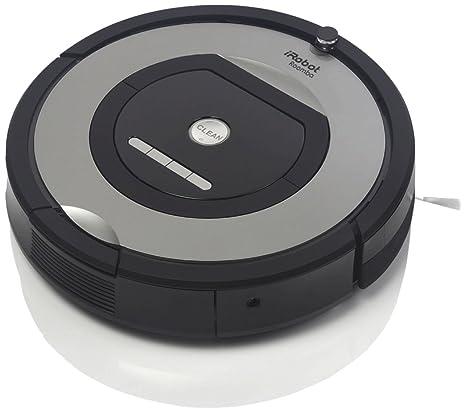 iRobot Roomba-774 Negro, Gris aspiradora robotizada - aspiradoras robotizadas (Negro, Gris, 61 dB, 9,2 mm, 3,8 kg)