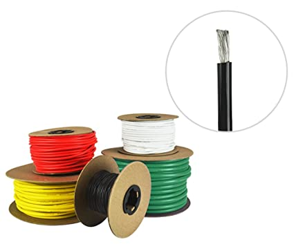 Incredible Amazon Com 4 Awg Marine Wire Tinned Copper Boat Battery Cable Wiring Database Gramgelartorg