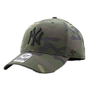 47 brand Cappellino Mlb New York Yankees Mvp Curved V Struct fit  verde nero multicolore formato  Regolabile  Amazon.it  Abbigliamento 9fa7877dbae3