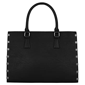 CRAZYCHIC - Bolso de Mano Grande Mujer - Tote Gran Capacidad - Bolsos Shopper Shopping Cuero