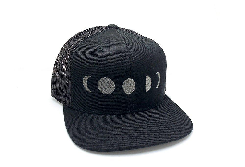 Trucker Hat - Moon Phases - Mesh & Wool Hat
