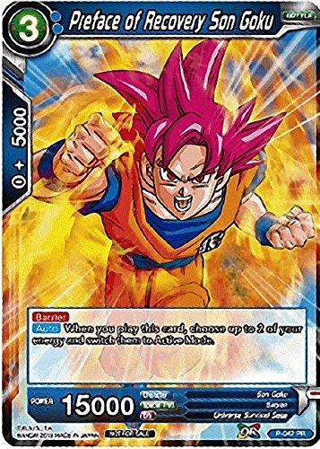 - Preface of Recovery Son Goku - P-047 - Dragon Ball Super TCG