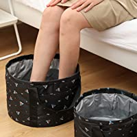 Collapsible Foot Bath Bags 22L Outdoor Travel Camping Portable Foot Spa Bucket, Soaking Feet Pedicure Feet Washing…