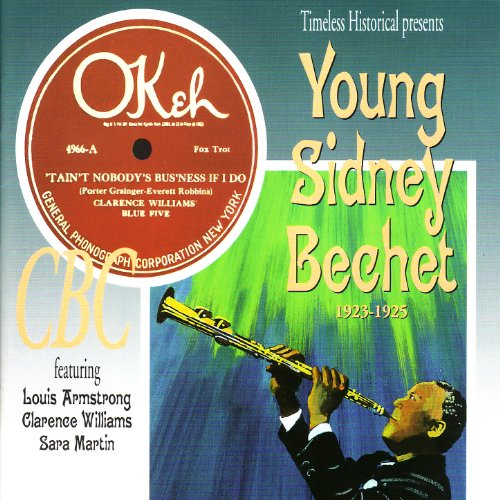 Young Sidney Bechet 1923-1925