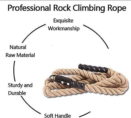 Fitness INTERNI ESTERNI ALBERO CON SOFT Eye /& Catena Polyhemp Gym corde da arrampicata