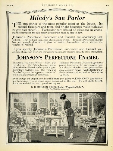1920-ad-miladys-sun-parlor-johnsons-perfectone-enamel-undercoat-varnish-racine-original-print-ad