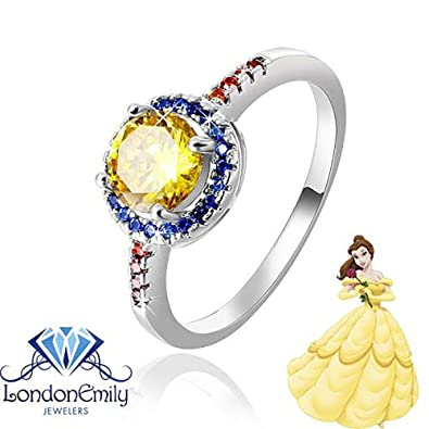 Amazoncom London Emily Jewelers Tale As Old As Time Belle Beauty