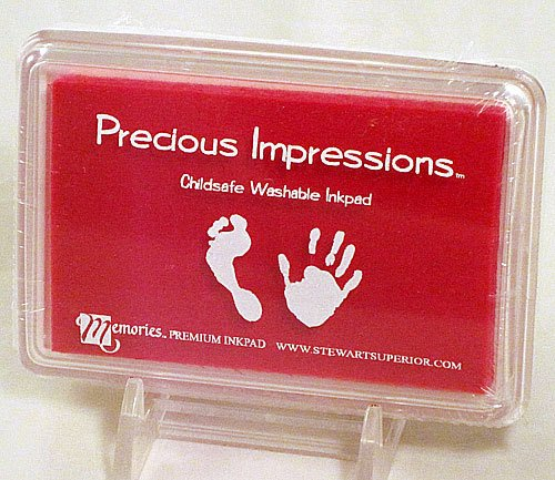 Stewart Superior Precious Impressions Child Safe Stamp Pad - Baby Pink