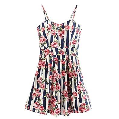 0d608f3418 Amazon.com  Goodtrade8® Spaghetti Strap Dresses Summer