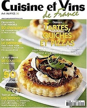 Cuisine Et Vins De France Amazon Com Magazines
