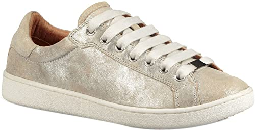 f60fc85cf48 UGG Womens Milo Stardust Sneaker Silver Size 8: Amazon.co.uk: Shoes ...
