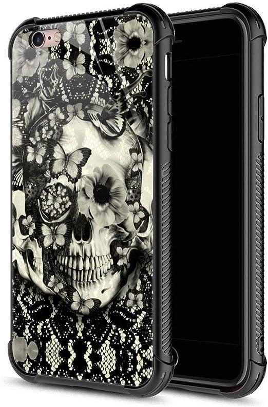 Skeleton Skull iPhone Case Goth Cell Phone Case