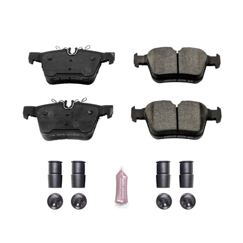 Power Stop Z23-1795 Z23 Evolution Sport Carbon Fiber Infused Ceramic Brake Pad with Hardware