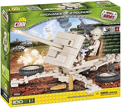 COBI Small Army Ordnance QF 2-Pounder Anti-Tank Gun