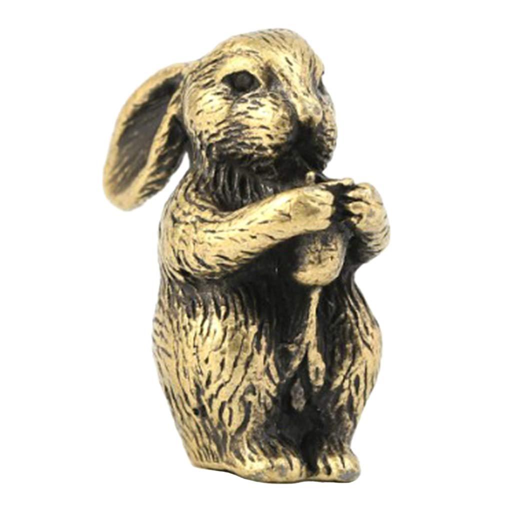 12pcs//Set Brass Stick Incense Holder Pocketable Lucky Charm Mini Zodiac Animal