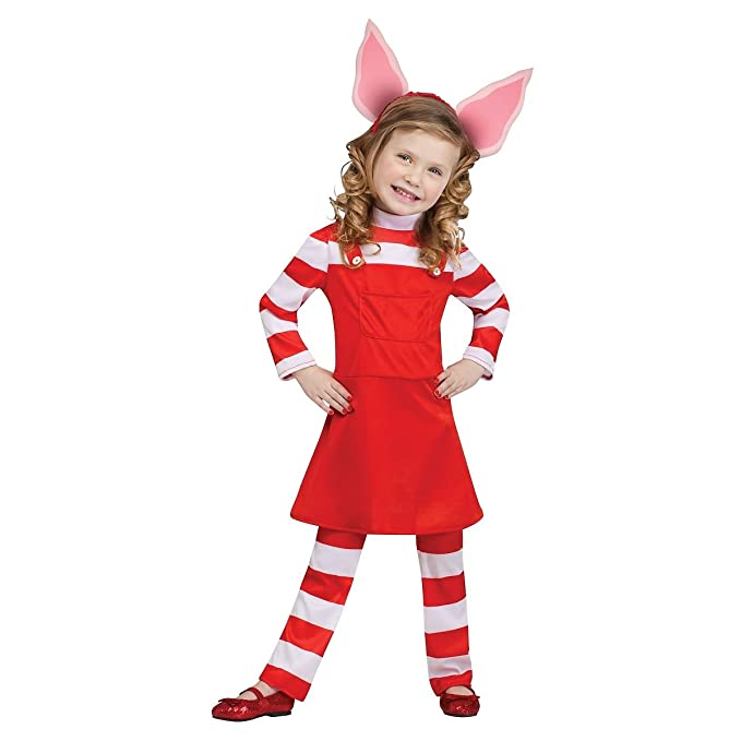 Fun World Costumes Baby Girlu0027s Olivia The Pig Toddler Costume Red Large  sc 1 st  Amazon.com & Amazon.com: Fun World Costumes Baby Girlu0027s Olivia The Pig Toddler ...