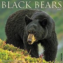 2018 Black Bears Wall Calendar