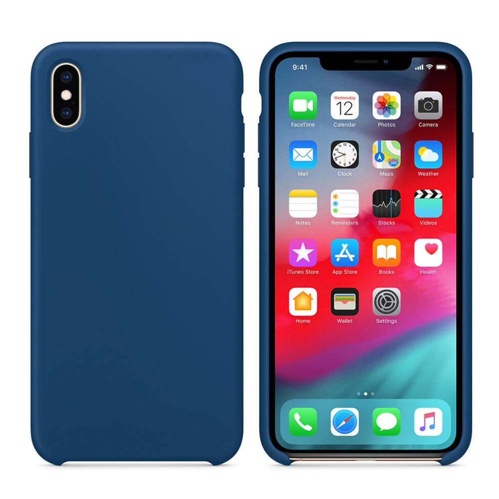 Ultra-Thin Silicone Leather Case For iPhone XS Max Case 6.5 inch (For iPhone XS Max 6.5