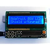 ADAFRUIT INDUSTRIES 772 LCD SHIELD KIT, 16x2 BLUE/WHITE DISPLAY, ARDUINO