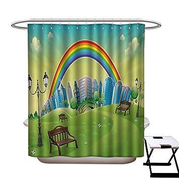 Amazon Com Blountdecor Cartoon Shower Curtains 3d Digital