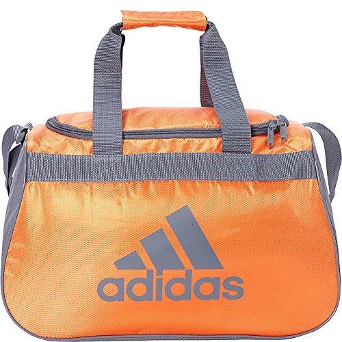 adidas Limited Edition Diablo Small Duffel Gym Bag in Bold Colors - (Team Orange/Onix)