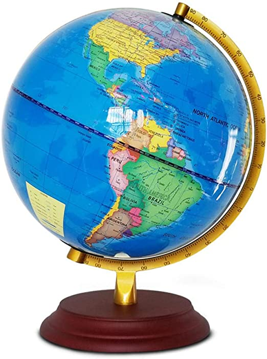 Keliour-toys Globo Interactivo para niños 25CM Global World Atlas ...