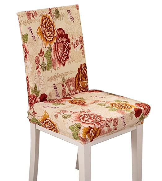 15 opinioni per 4pcs Chair Covers Removable Washable Chair Slipcovers for Banquet/ Hotel/