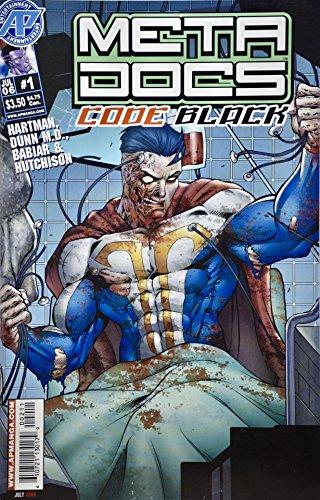 2006 - AP - Meta Docs : Code Black #1 - Comic Book - New - Collectible ()