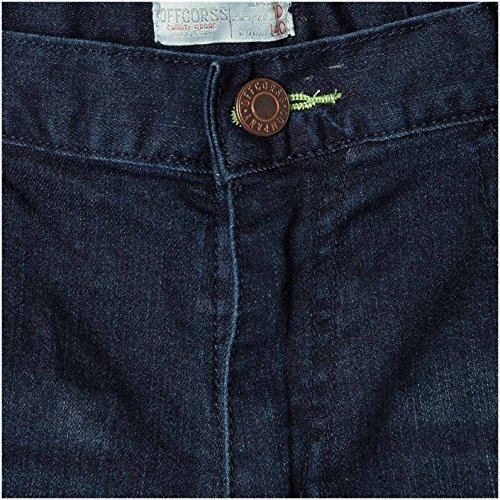 OFFCORSS Slim Fit Chino Shorts for Big Boys Beach Bermudas para Niños Blue 10 by OFFCORSS (Image #2)