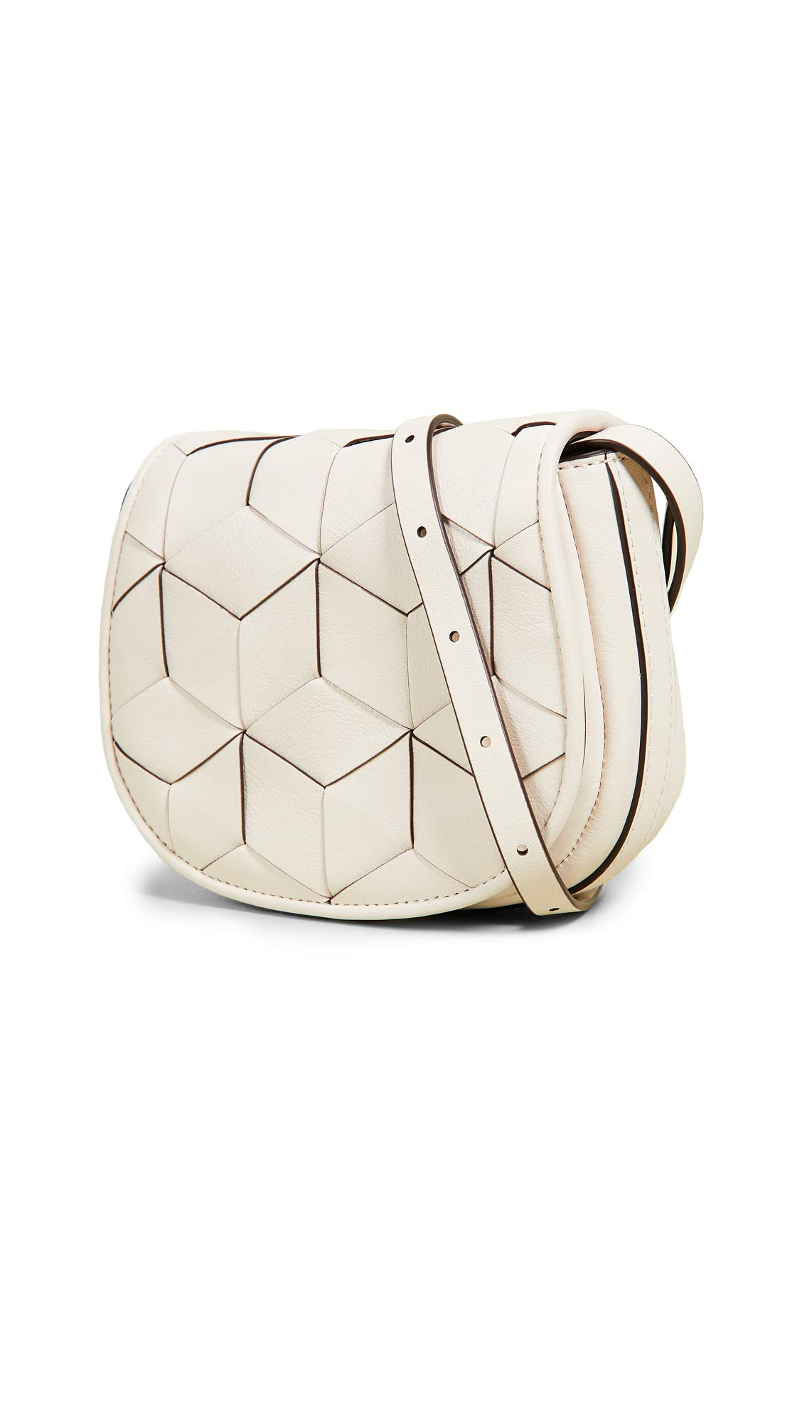 Welden Women's Mini Escapade Belt Bag, Chalk, Off White, One Size