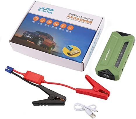 Fantasyworld 12V 20000mAh Portable Mini Multi-Function Car Jump Starter Power Booster Battery Charger Emergency Start Charger