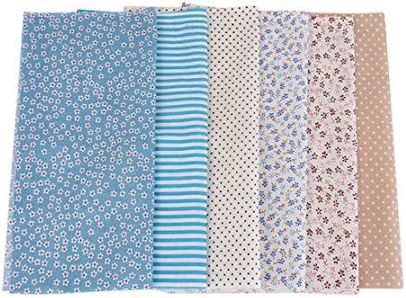 Juego de 6 telas de algodón de Shujin, por metros, para coser ...