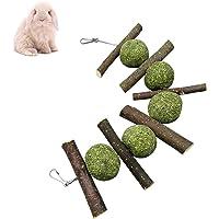 Hihey Hamster Masticar Juguete Manzana Cortar Masticar Juguetes
